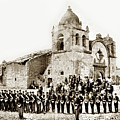 St. Patrick's Cadets On The Third Of July, 1882 At The  by California Views Archives Mr Pat Hathaway Archives