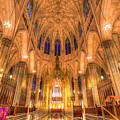 St Patrick's Cathedral Manhattan New York by David Pyatt