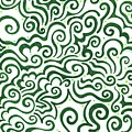 St Patrick's Day Abstract by Mandy Shupp