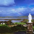St Patricks Statue, Co Mayo, Ireland by The Irish Image Collection