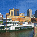 St Paul On The Mississippi by Tom Reynen