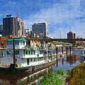 St Paul Tugboat by Tom Reynen