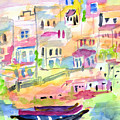 St. Paul's Bay Malta Memories by Arlene  Wright-Correll
