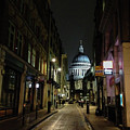St. Pauls By Night by Geoff Smith