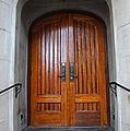 St Paul's Episcopal Church In San Francisco II by Michiale Schneider
