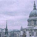 St Pauls Snow by Martin Newman