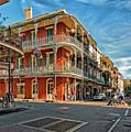 St Peter St New Orleans by Steve Harrington