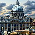 St. Peter's Basilica by Anthony Dezenzio