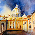 St. Peters Basilica by Karen Stark