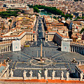 St Peter's Square by Jon Berghoff