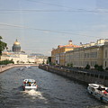St. Petersburg Canal - Russia by Christiane Schulze Art And Photography