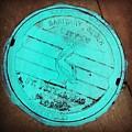 St Petersburg Manhole by Valerie Reeves