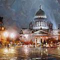 St. Petersburg.isaac Square by Ramil Gappasov