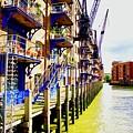 St Saviours Wharf by Ronald Watkins