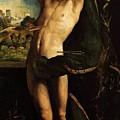 St Sebastian by Dossi Dosso