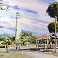 St. Simons Island Lighthouse by Sam Sidders
