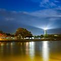 St. Simons Lighthouse Illumination by Chris Bordeleau