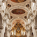 St. Stephen Cathedral Interior by Bob Phillips
