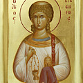 St Stephen The First Martyr And Deacon by Julia Bridget Hayes