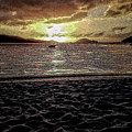 St Thomas - Dusk At Magans Bay by Stefan H Unger