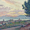 St Tropez Pinewood by Paul Signac