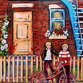 St. Urbain Street Boys by Carole Spandau