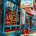 St. Viateur Bagel Bakery by Carole Spandau
