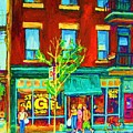 St Viateur Bagel Shop by Carole Spandau