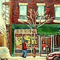 St Viateur Bagel Shop Montreal by Carole Spandau