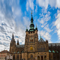 St  Vitus Cathedral In Prague by Anastasy Yarmolovich