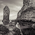 Stack And Chalk Cliff by Mariusz Talarek