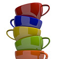 Stacked Cups by Andreas Berheide
