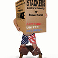 Stackers Poster by Steve Karol