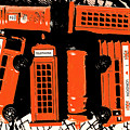 Stacking The Double Deckers by Jorgo Photography - Wall Art Gallery