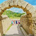 Stadium At Olympia, Greece  by Marek Poplawski