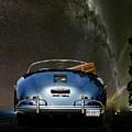 Star Gazing,1955 Porsche 356a 1600 Speedster, Under The Milky Way by Thomas Pollart
