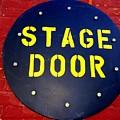 Stage Door by Ed Weidman