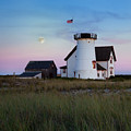 Stage Harbor Light Cape Cod by Bill Wakeley