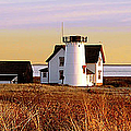 Stage Harbor Lighthouse Chatham by Charles Harden