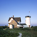Stage Harbor Lighthouse by John Greim