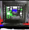 Stage With Advertising Screen Lyric Theater Collage Tucson Arizona 1918-2008 by David Lee Guss