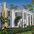 Stagecoach Inn Madison Georgia by Peter Muzyka