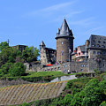 Stahleck Castle In The Rhine Gorge Germany by Louise Heusinkveld