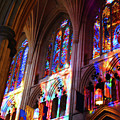 Stain Glass Cathedral by Jost Houk