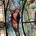 Stain Glass Set 3 - Bath House - Hot Springs, Ar by Lynn Michelle