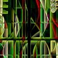 Stained Glass 2 by Jenny Revitz Soper