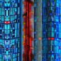 Stained Glass Abstract by Jeff Breiman