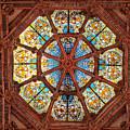 Stained Glass Ceiling Window by Dave Mills