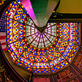 Stained Glass, Old State Capital, Baton Rouge by Chris Coffee