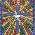 Stained Glass Cross by Debbie DeWitt